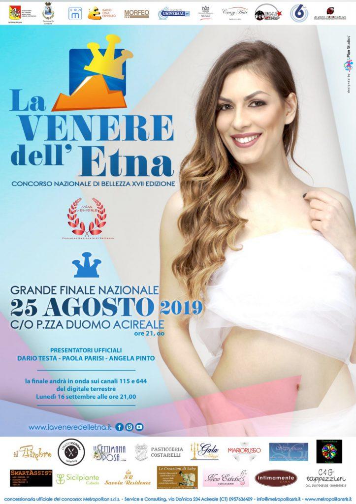 Miss Venere dell'Etna 2019