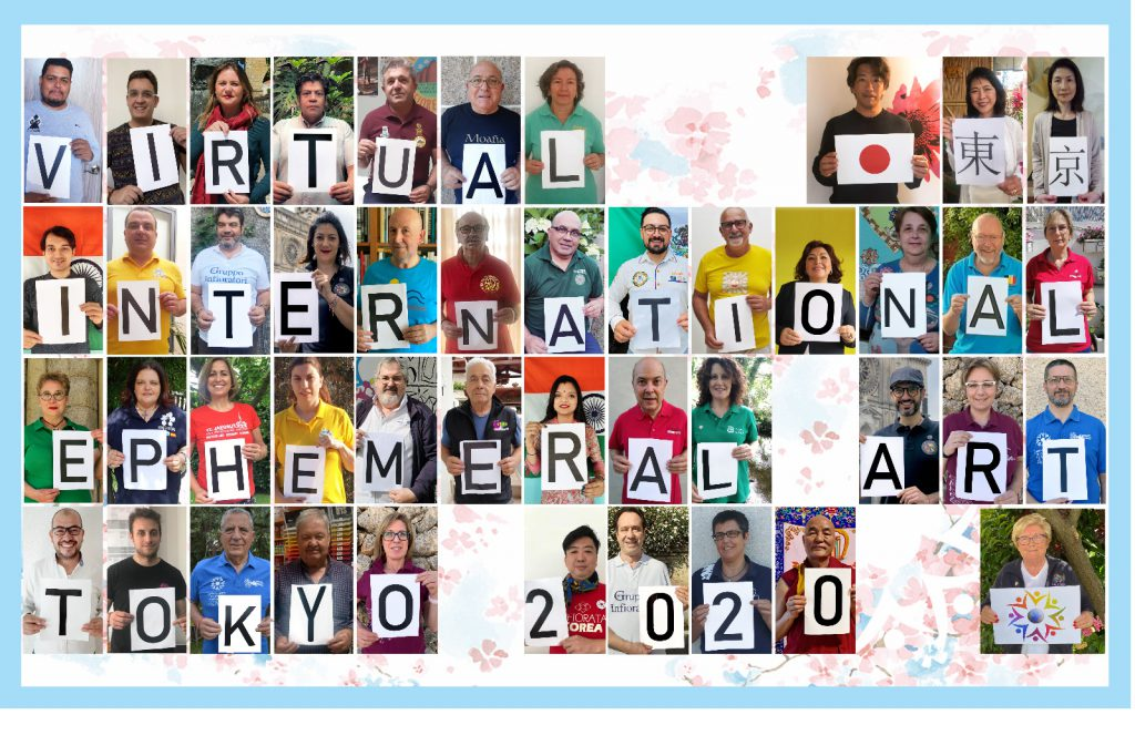 Virtual Internationale Ephemeral Art Tokyo 2020